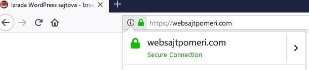 SSL Sertifikat 2